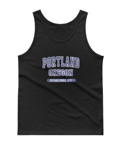 mockup 90611988 247x296 - Portland Oregon Established 1851 Tank top