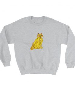 mockup fab563b8 247x296 - Abba Yellow Cat Sweatshirt