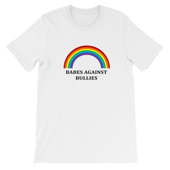 mockup 4af99e6e 595x595 - Babes agains bullies Short-Sleeve Unisex T-Shirt