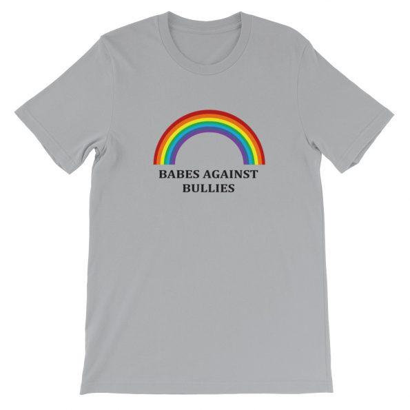 mockup 5d00e940 595x595 - Babes agains bullies Short-Sleeve Unisex T-Shirt