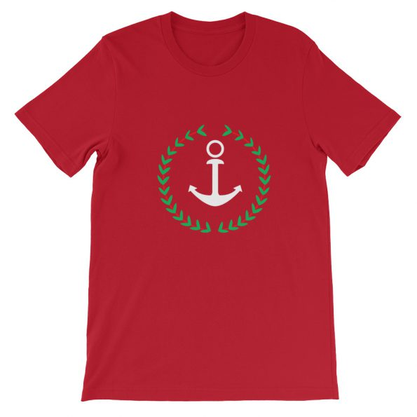 Anchor And Wreath Short Sleeve Unisex T Shirt