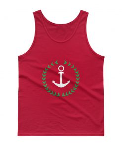 Anchor And Wreath Tank top