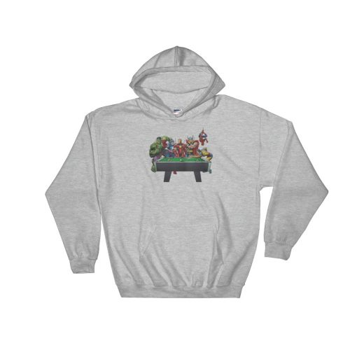 Avenger Billiard Hooded Sweatshirt