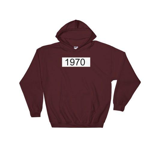 1970 Box Gildan 18500 Unisex Heavy Blend Hooded Sweatshirt