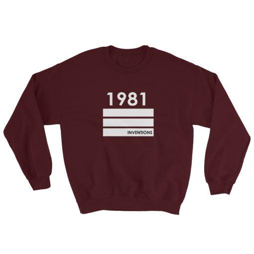 mockup 0d243c57 510x510 - 1981 Inventions Gildan 18000 Unisex Heavy Blend Crewneck Sweatshirt