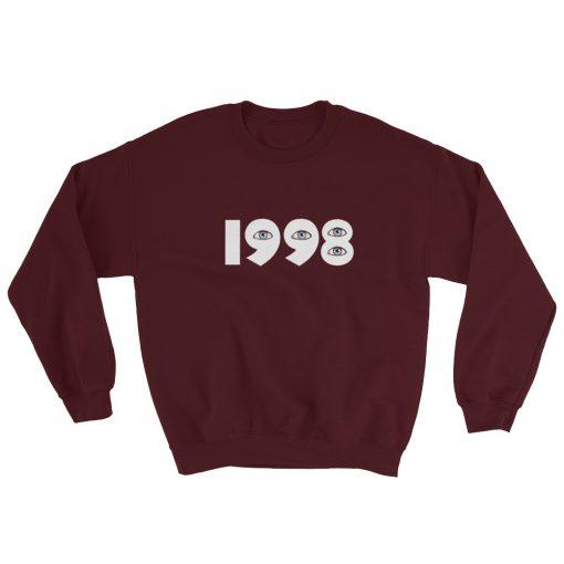 1998 Eyes Gildan 18000 Unisex Heavy Blend Crewneck Sweatshirt