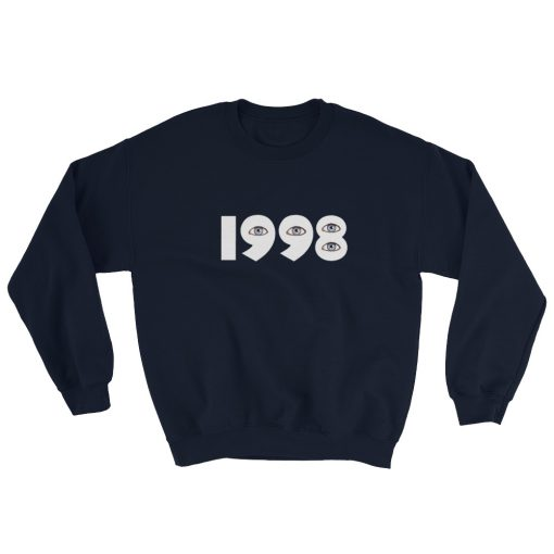 mockup a0bed2cd 510x510 - 1998 Eyes Gildan 18000 Unisex Heavy Blend Crewneck Sweatshirt