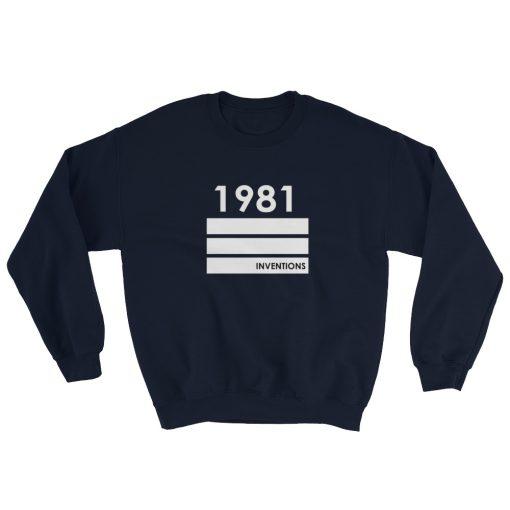 mockup bc6f82ac 510x510 - 1981 Inventions Gildan 18000 Unisex Heavy Blend Crewneck Sweatshirt