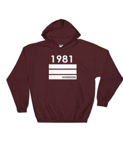 1981 Inventions Hooded Sweatshirt