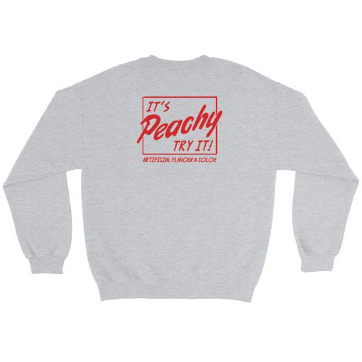 mockup 3e7e3b10 510x510 - Artificial Flavour And Color It's Peachy Try It Sweatshirt