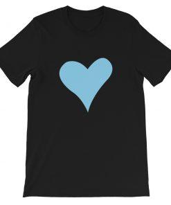 mockup 3eada549 247x296 - Blue Heart Short-Sleeve Unisex T-Shirt