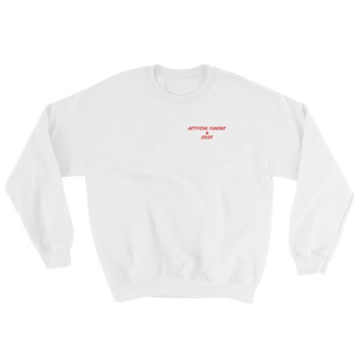 Artificial Flavour And Color It's Peachy Try It Sweatshirt