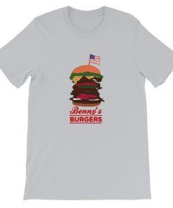 mockup 86adefbd 247x296 - Benny's Burgers Short-Sleeve Unisex T-Shirt