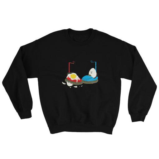 Bumper Car Egg Sweatshirt