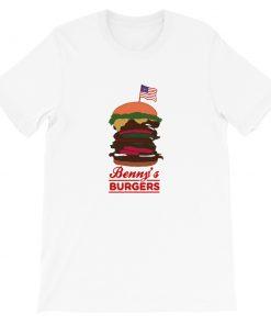 mockup c687e290 247x296 - Benny's Burgers Short-Sleeve Unisex T-Shirt