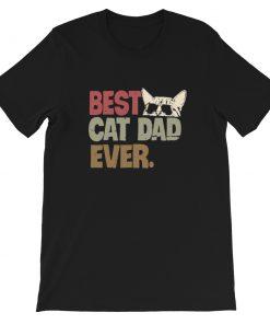 mockup e2e1a897 247x296 - Best cat dad ever Short-Sleeve Unisex T-Shirt