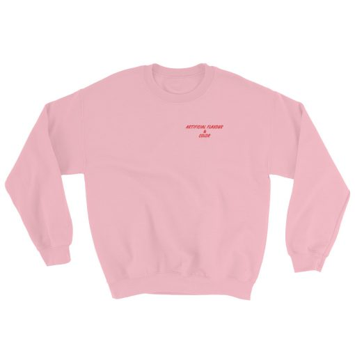 mockup f325770e 510x510 - Artificial Flavour And Color It's Peachy Try It Sweatshirt