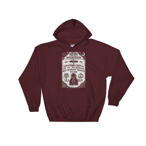 mockup f5fdb46c 510x510 - Bring Me The Horizon  Hooded Sweatshirt
