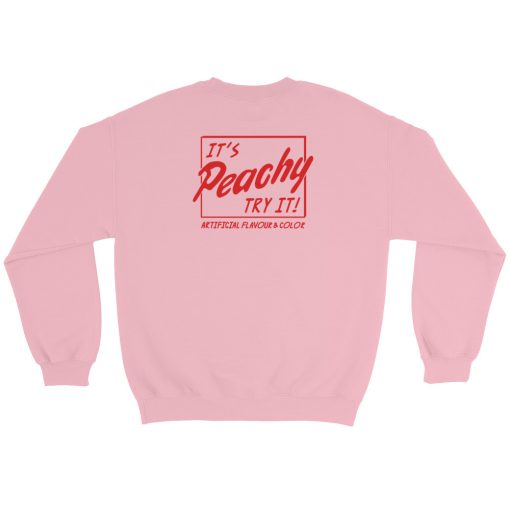 mockup f98fff01 510x510 - Artificial Flavour And Color It's Peachy Try It Sweatshirt