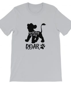 mockup 046d6609 247x296 - Disney Working on my ROAR Simba Short-Sleeve Unisex T-Shirt