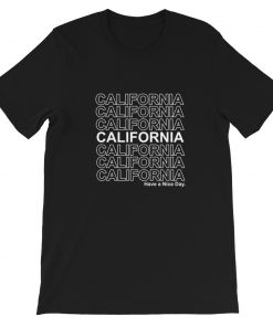 mockup 524a34e6 247x296 - California Have A Nice Day Short-Sleeve Unisex T-Shirt