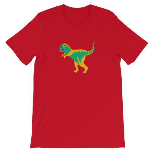 mockup 8a1c497c 510x510 - Dinosaur Coach Short-Sleeve Unisex T-Shirt