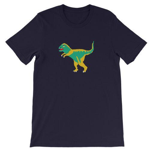 mockup 993617bd 510x510 - Dinosaur Coach Short-Sleeve Unisex T-Shirt
