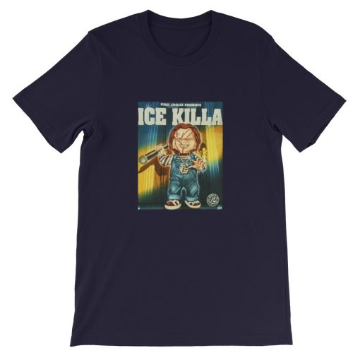 mockup bcc0893c 510x510 - chucky ice killa Short-Sleeve Unisex T-Shirt