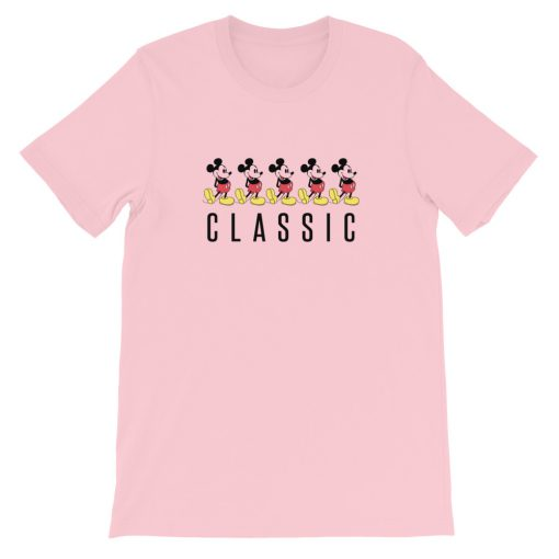 mockup d4ed2cba 510x510 - Classic Mickey Mouse Short-Sleeve Unisex T-Shirt
