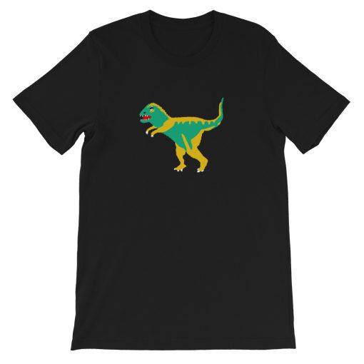 mockup e9a058e5 510x510 - Dinosaur Coach Short-Sleeve Unisex T-Shirt