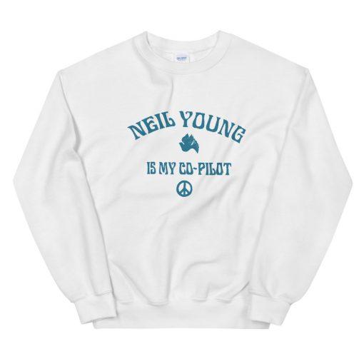 mockup 484187c4 510x510 - Neil Young Is My Co Pilot Sweatshirt