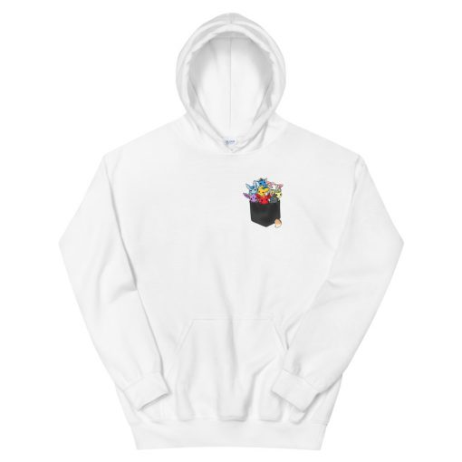 Pocket full of monster Hooded Sweatshirt