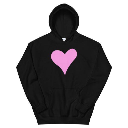 mockup ac8ec5c0 510x510 - Pink Heart Hooded Sweatshirt