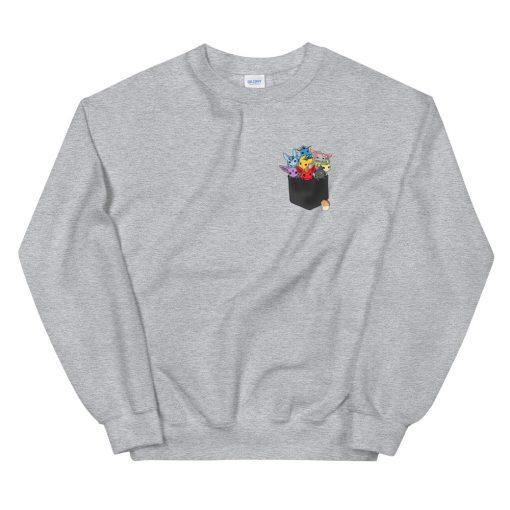 mockup b1e65962 510x510 - Pocket full of monster Sweatshirt