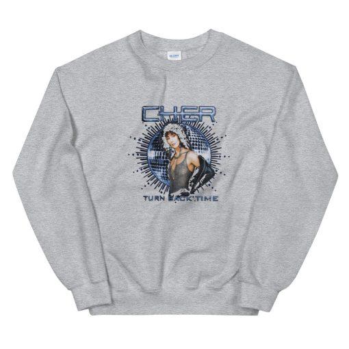 mockup 1f984868 510x510 - Cher Turn Back Time Unisex Sweatshirt