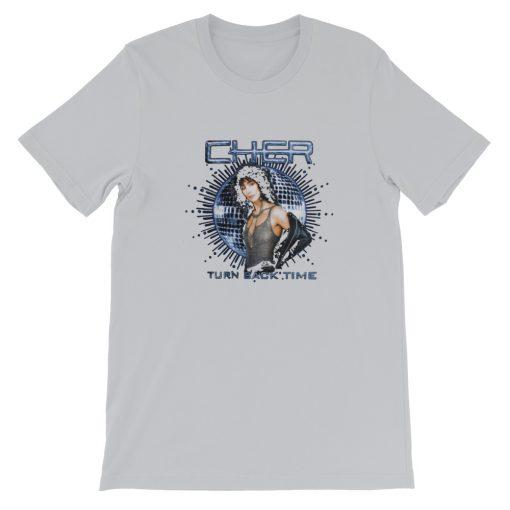 mockup 7e0c36d5 510x510 - Cher Turn Back Time Short-Sleeve Unisex T-Shirt