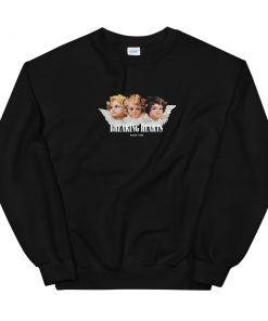 Angel Breaking Hearts Unisex Sweatshirt