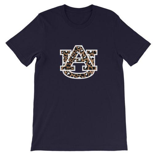 mockup c41a67b7 510x510 - Auburn Tigers Leopard Short-Sleeve Unisex T-Shirt