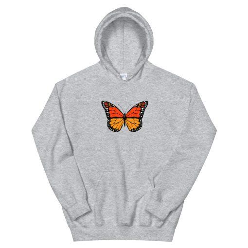 Monarch Butterfly 02 Unisex Hoodie